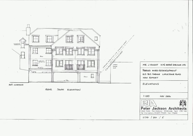 Littlestone Road, Littlestone, New Romney - Building plot for sale with full planning permission for 11 flats and 2 retail units  - Main Picture